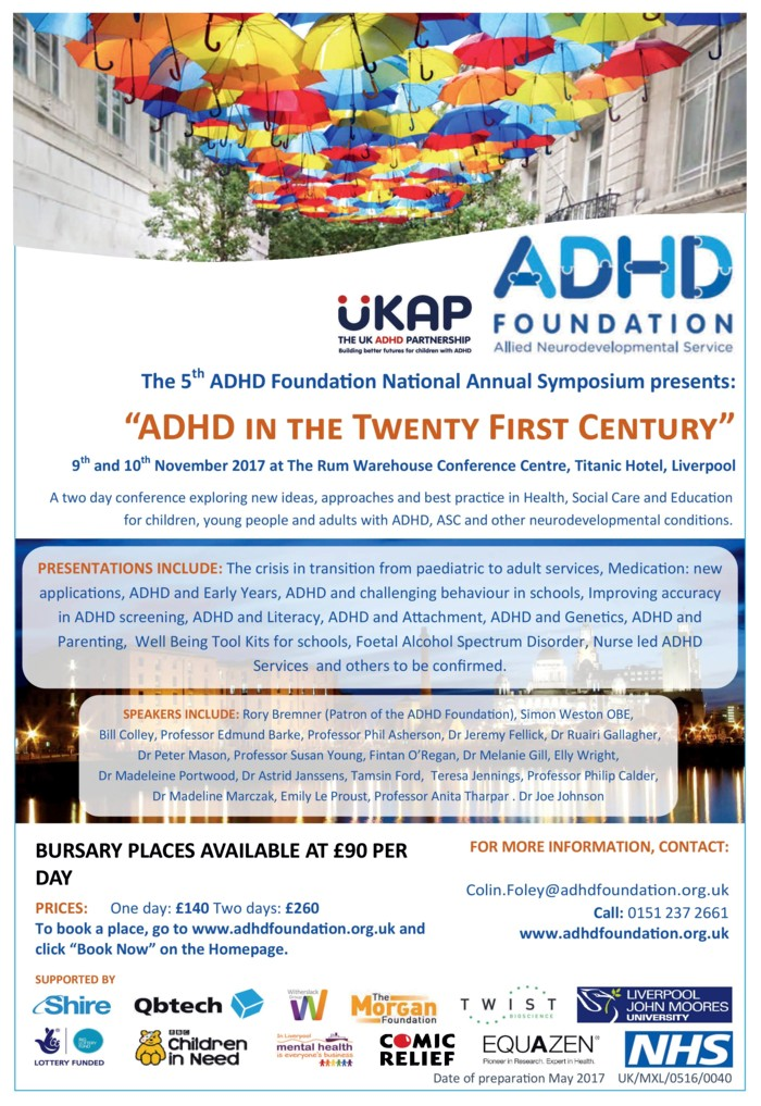 ADHD Foundation Conference 2017